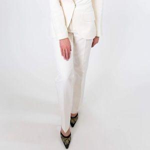 DOLCE & GABBANA cotton/silk suit pants size 38